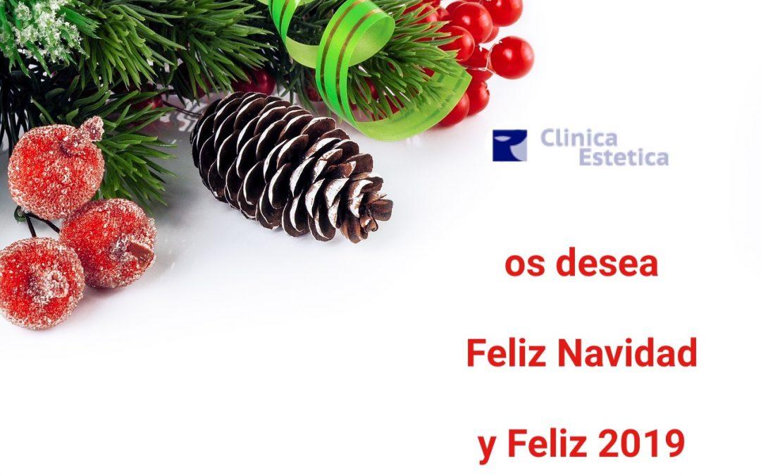 Clinica Estética Burjasot os desea Felices Fiestas